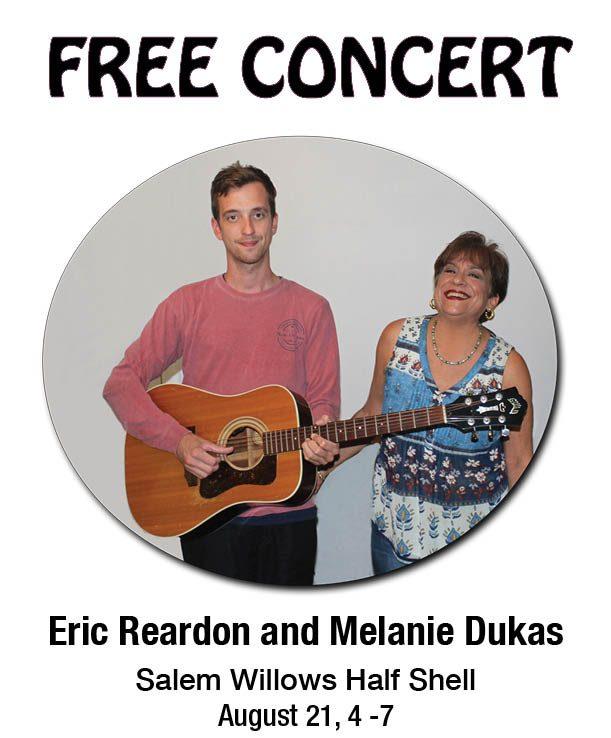 Eric Reardon and Melanie Dukas